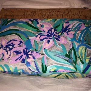 Lillie Pulitzer Mermaid in the Shade Travel Pouch